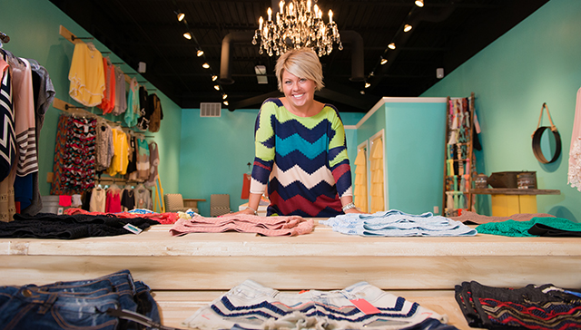 Nikki Payne, owner of A Fine Mess and The Snob Shop Exchange